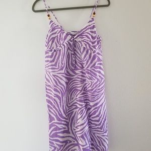 Diane von Furstenberg swim cover up medium